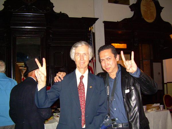 Sir Terrance Lindall & Bienvenido Bones Banez jr.